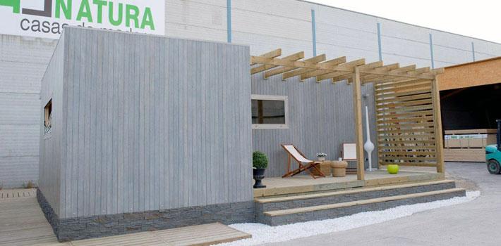 Oferta casa de madera blu 55 for Casas de madera ofertas liquidacion