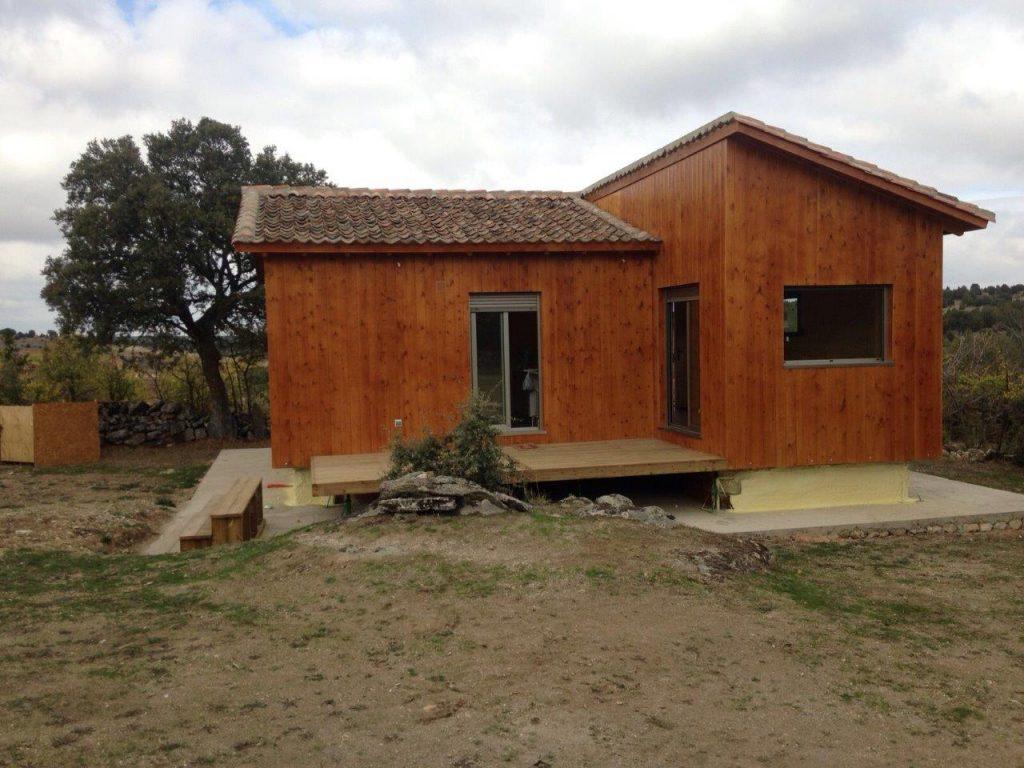 casa de madera en segovia