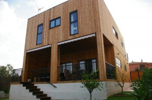 casa madera diseño moderno
