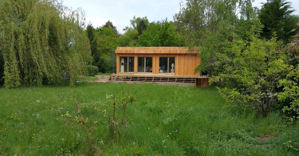 casa de madera francia