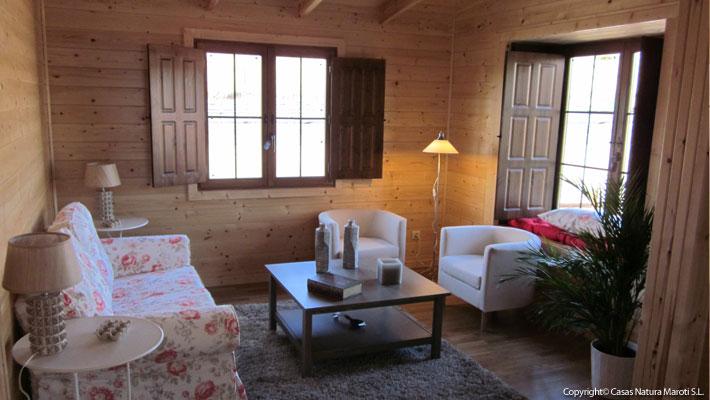 Interior Casa de Madera ¿Madera o Pladur? - photo#24