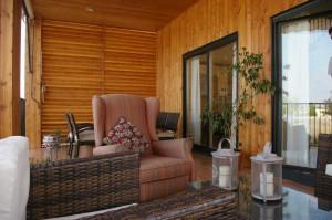 casa madera totalmente equipada
