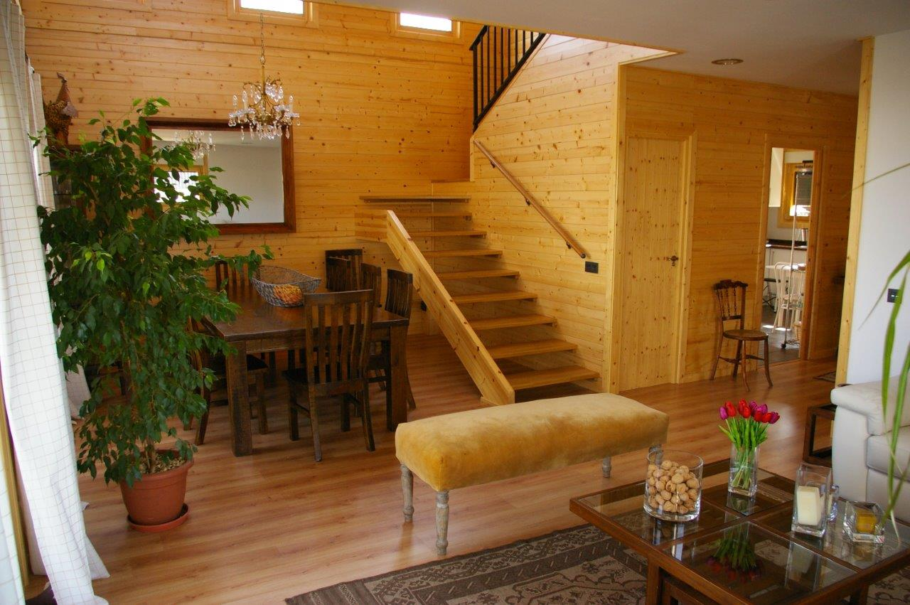 Casas de madera casas natura for Planos de casas norteamericanas