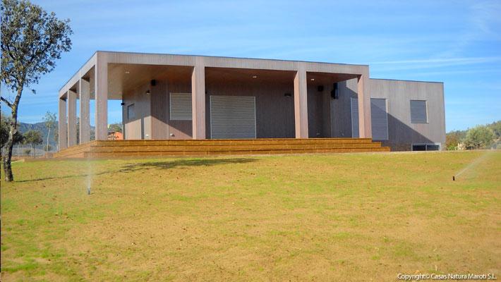 Casas de madera casas natura fabricantes en espa a de - Casas de madera en espana ...