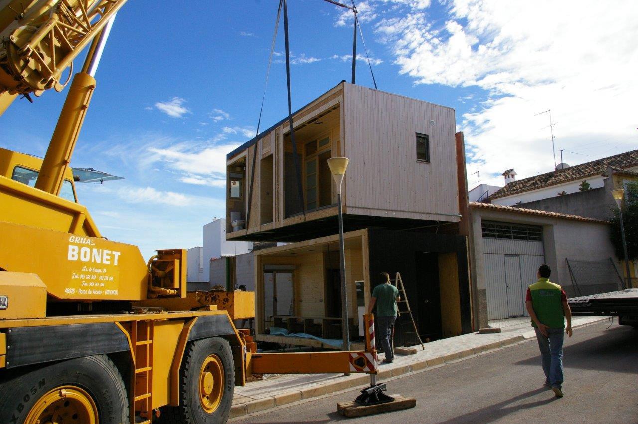 Casa de madera modular cheste valencia - La casa de madera valencia ...