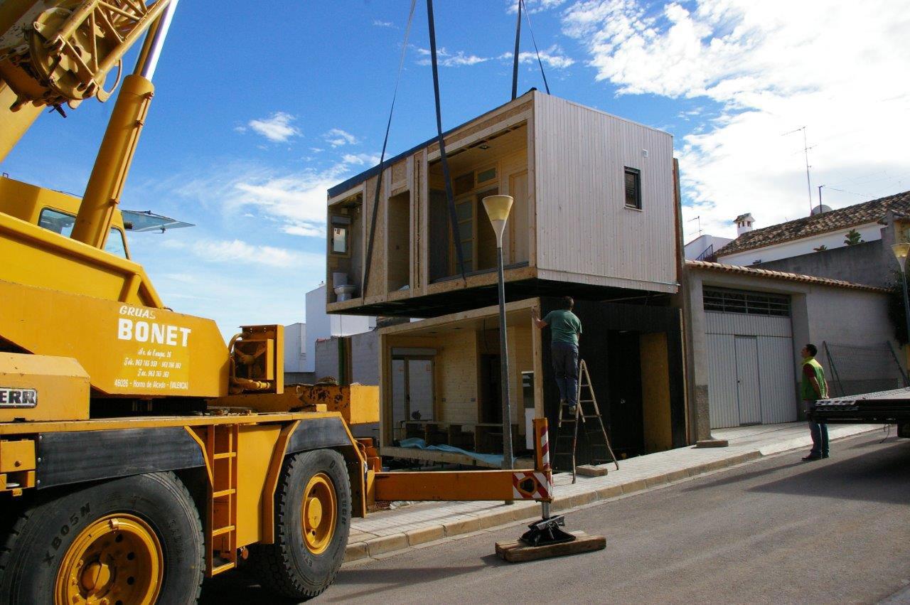 Casas prefabricadas madera casa de madera valencia - Casas prefabricadas valencia ...