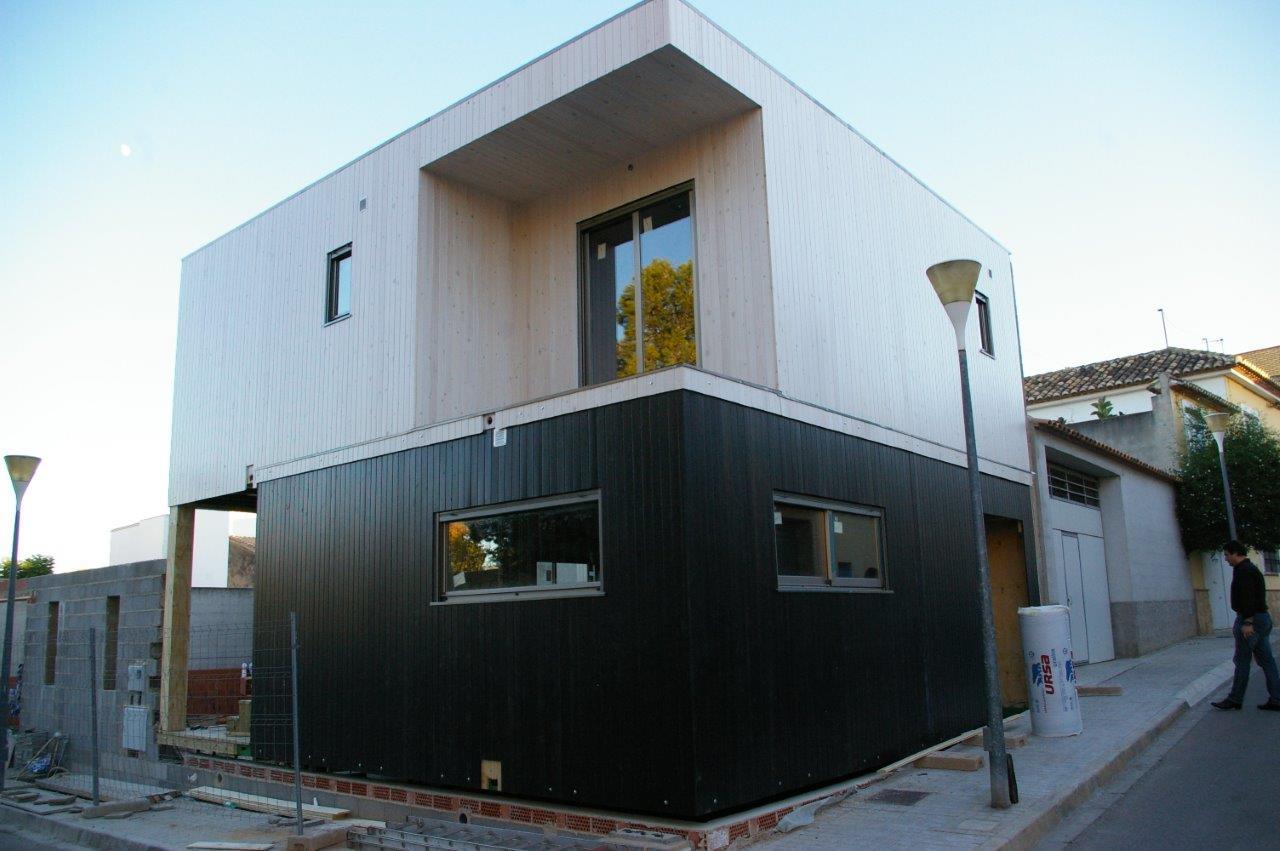 Casa de madera modular cheste valencia - Casas de madera valencia ...