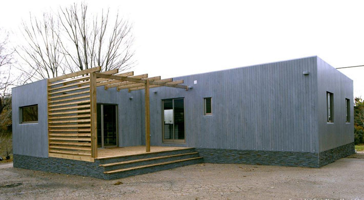 Natura blu 111 for Prix construction maison 90m2