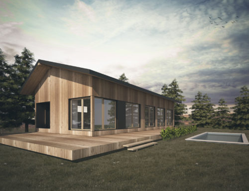 Casa Modular Natura Verde 100 2.0