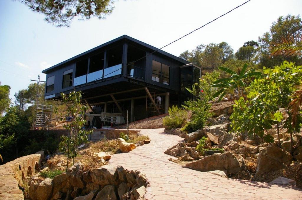 casa de madera de 178 m2 en gandia valencia