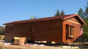 casa de madera en francia