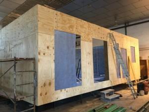 construcción de casas modulares