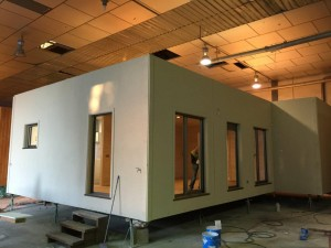construcción de casas modulares en fabrica