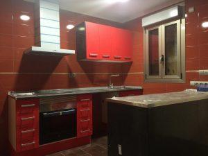 cocina casa de madera duplex natura blu