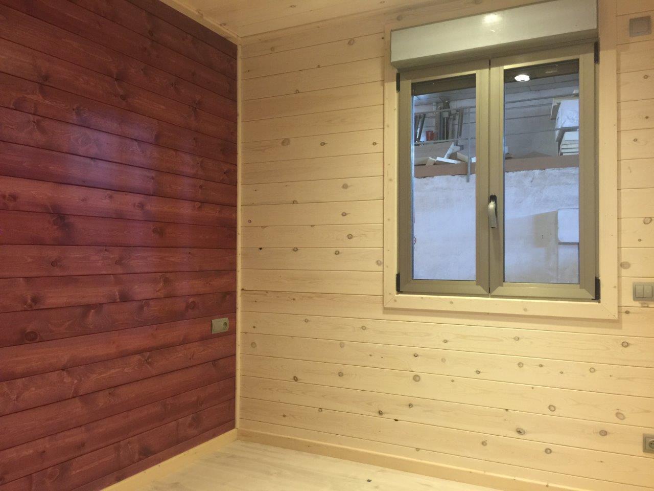 Casa de madera d plex para saint jean de luz for Placas de madera para revestimiento interior