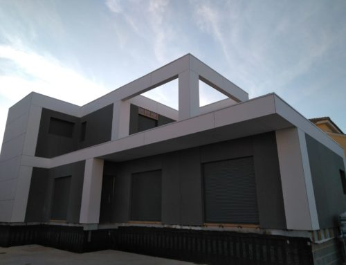 Casa modular Natura Nero 180m2