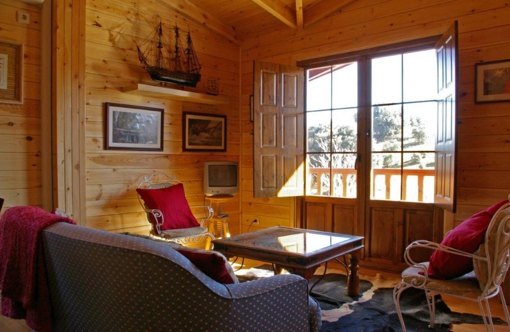 vivir en una casa de madera