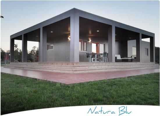 Casas de madera casas prefabricadas de madera casa madera - Casas modulares barcelona ...