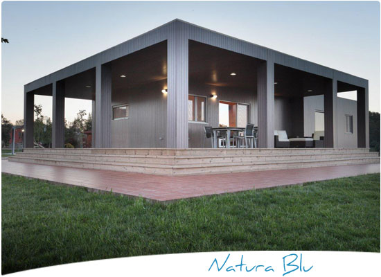 Casas de madera casas prefabricadas de madera casa madera - Casas prefabricadas barcelona ...