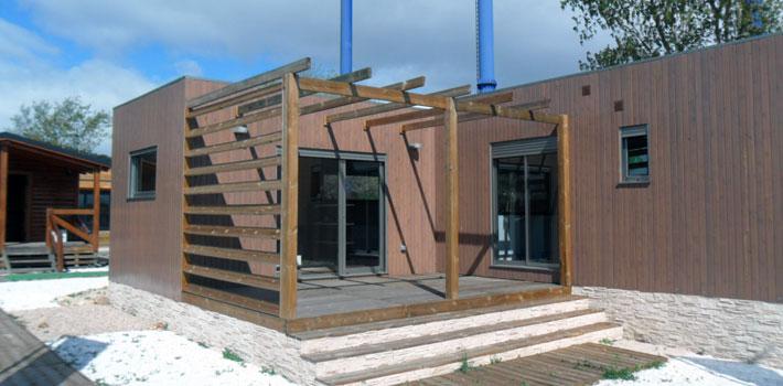 casa de madera modular