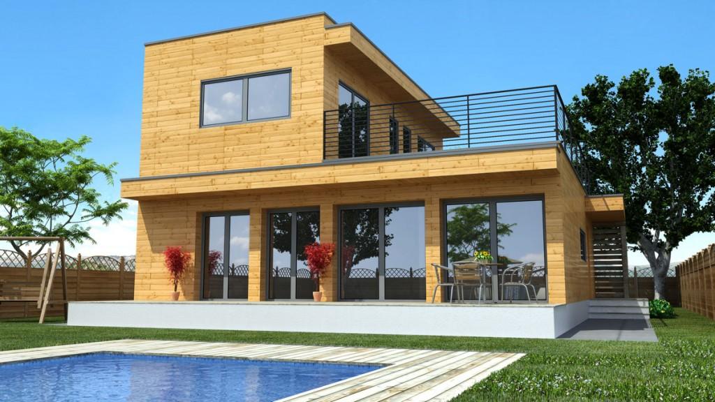 Casa de Madera Natura Rosso 150 - photo#5