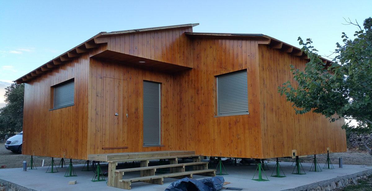 Casas de madera terminadas - Casas prefabricadas girona ...