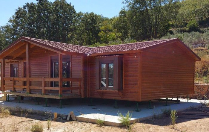 Casas de madera casas prefabricadas de madera casa madera for Casas prefabricadas galicia
