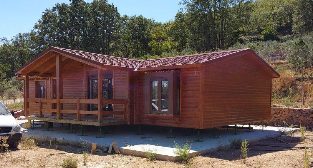Casas de madera terminadas esta semana - Propiedades de la madera ...