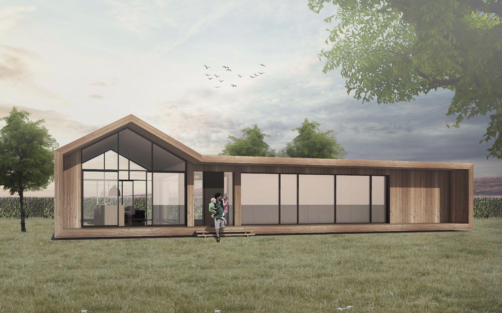 La construcción modular es una apuesta al ahorro energético