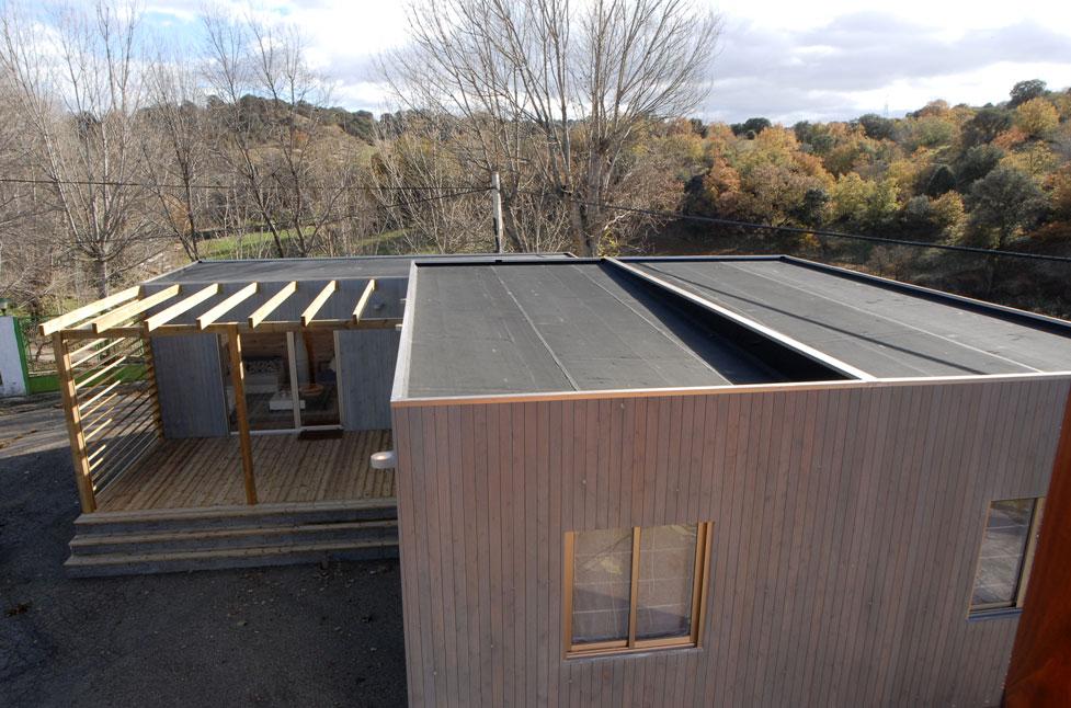 Cubiertas ecol gicas en nuestras casas con techo plano for Tipos de tejados de casas