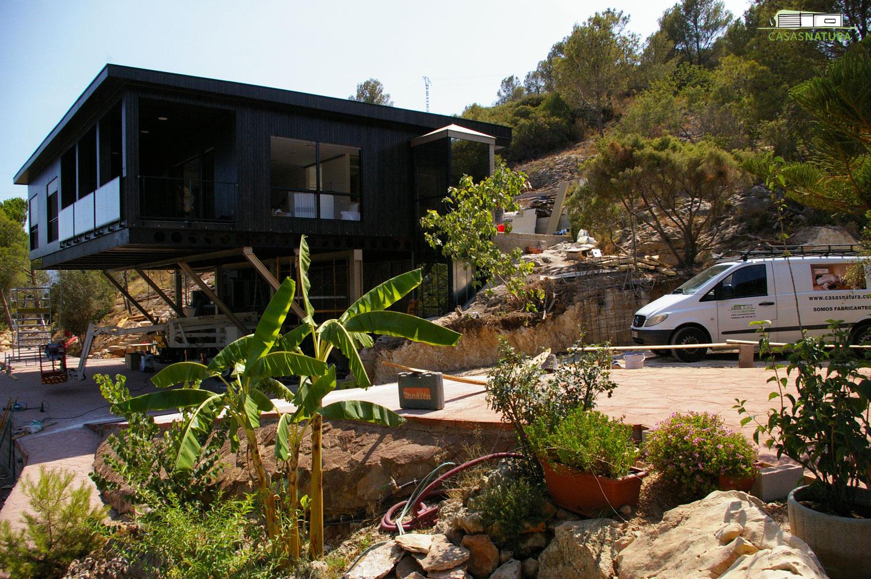 Casa de madera 178 m2 en gandia valencia for Casas de madera valencia
