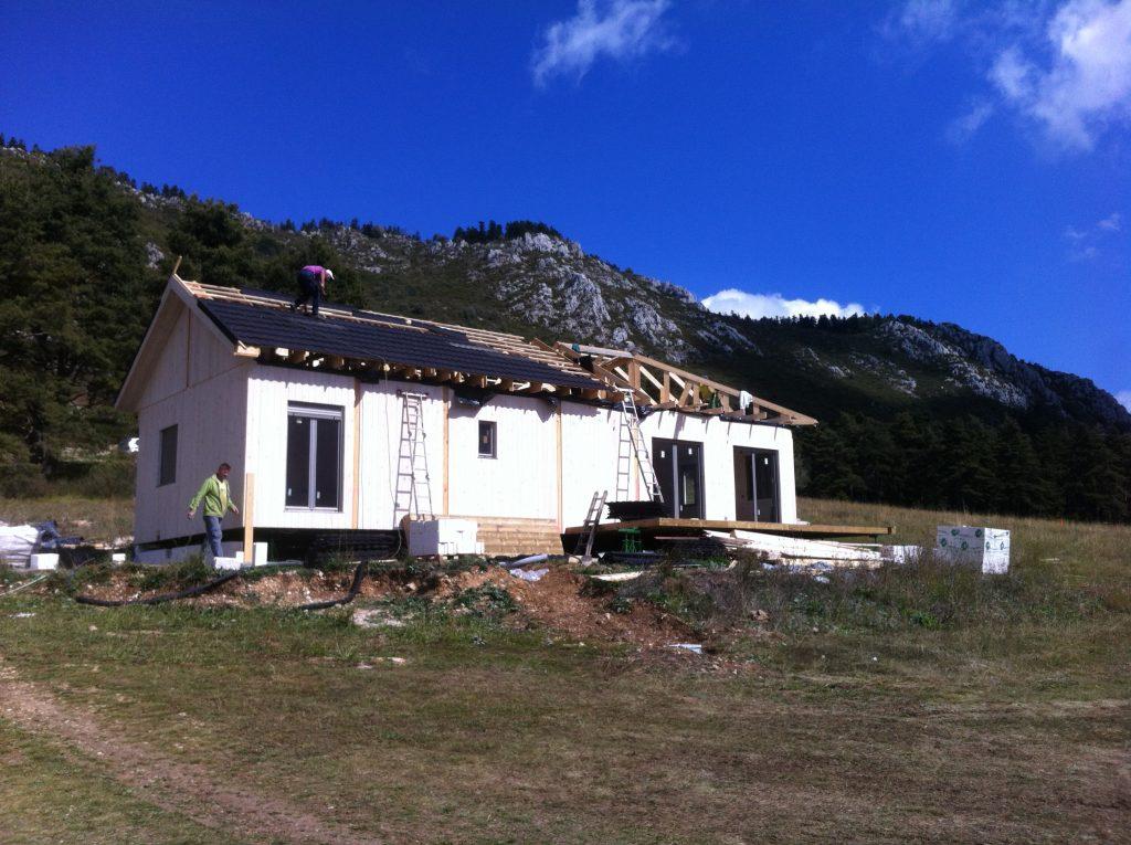 Casa de madera Natura en Caille, Francia - photo#49