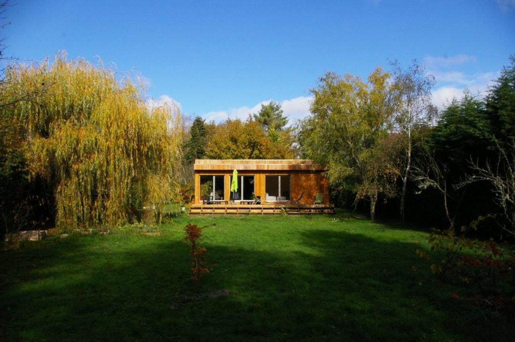 casa de madera eficiente
