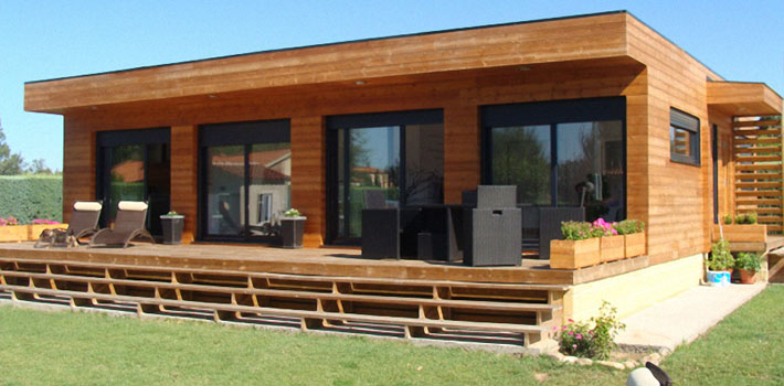casas de madera ofertas casas de madera baratas. Black Bedroom Furniture Sets. Home Design Ideas