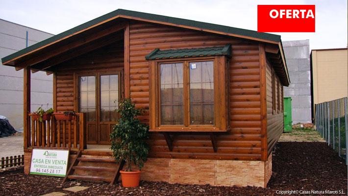 Natura verde 68 oferta casas de madera casas natura - Precio de casas de madera baratas ...